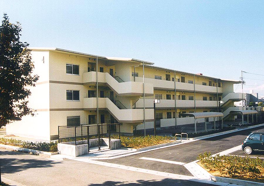 高建設 施工実例(徳島県営住宅)1