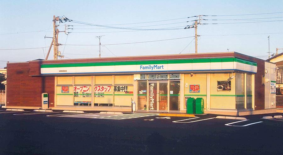 高建設 施工実例(ファミリーマート 板野郡松茂町)1