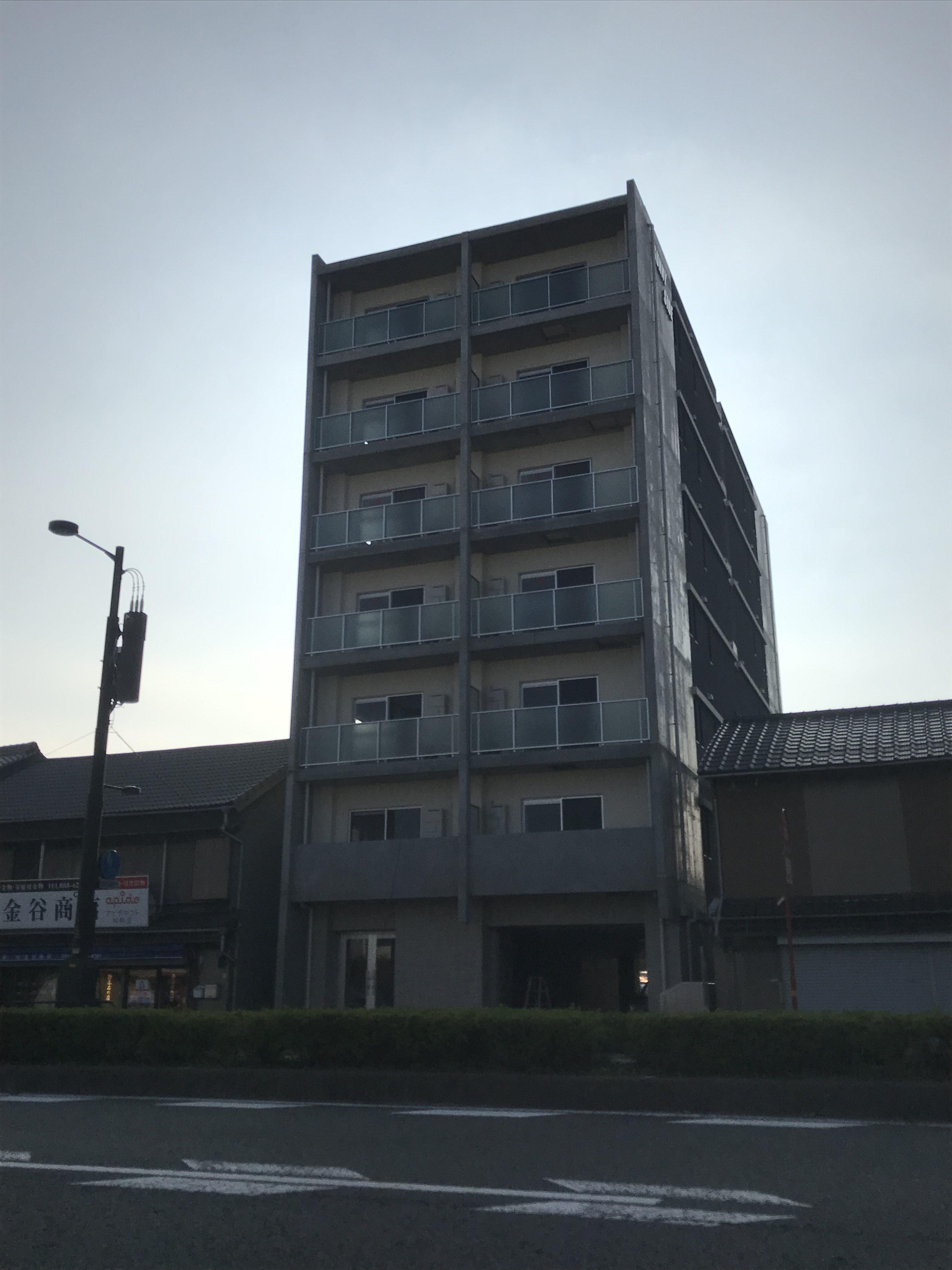 高建設 施工実例(収益マンション 徳島市吉野本町)1
