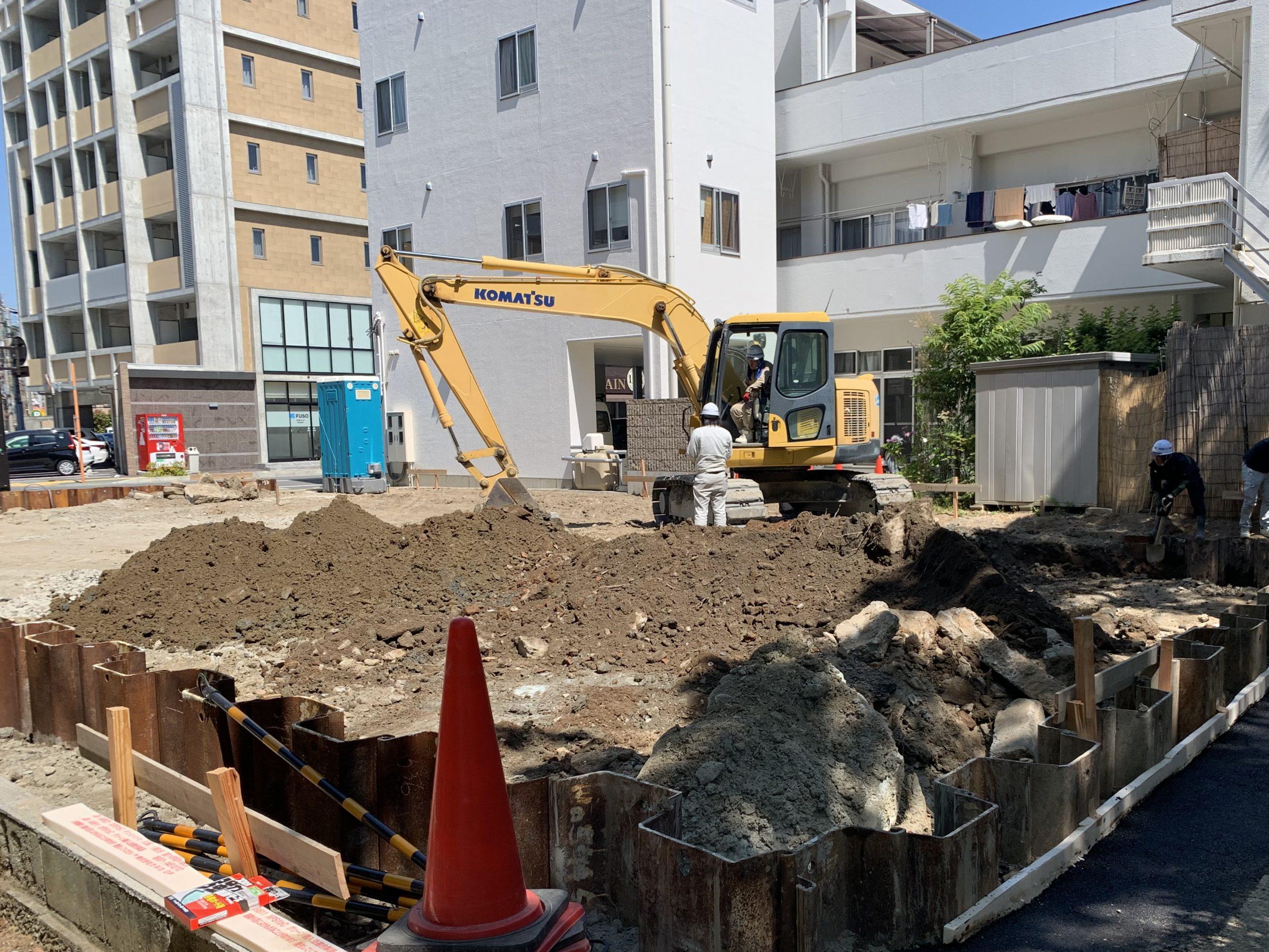 高建設 施工実例(収容マンション 徳島市幸町(公園前))1
