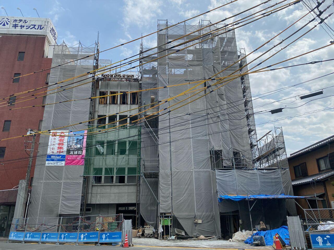 高建設 施工実例(収益マンション 北常三島)1